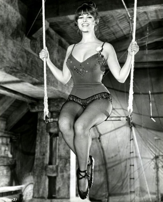 Claudia Cardinale in Circus world