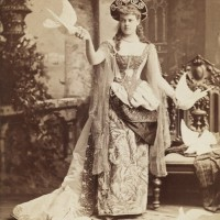 Alva Vanderbilt at the Vanderbilt Ball (1883)