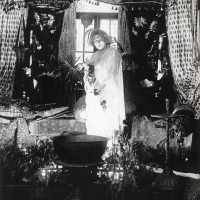 "Louise Glaum as ""The Wolf Woman"" (1916)"